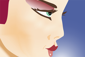 Reblandecer el perfilador de labios