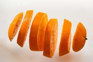 Limpiar el rostro con naranja y yogur