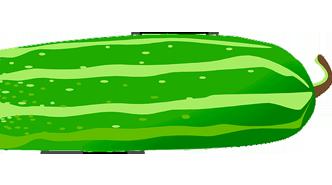 Aclarar axilas con pepino