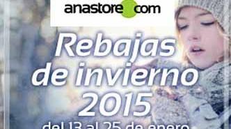 ¡Aprovecha las rebajas de invierno de Anastore!